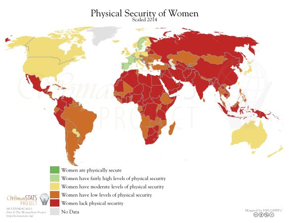 Physical Security of Women 2014